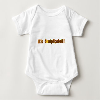 Fantastic Contraption: It's Complicated Baby Bodysuit