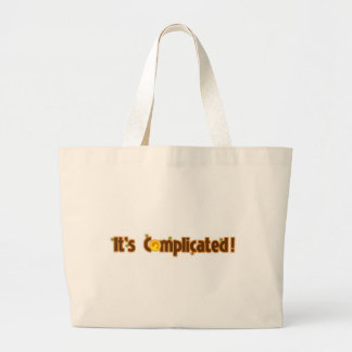 Fantastic Contraption: It's Complicated Canvas Bags