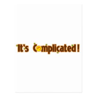 Fantastic Contraption: It's Complicated Postcard
