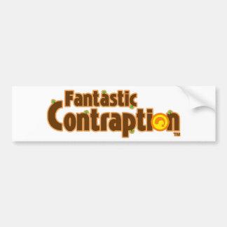 Fantastic Contraption Stuff! Bumper Sticker