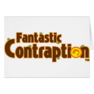 Fantastic Contraption Stuff! Greeting Card