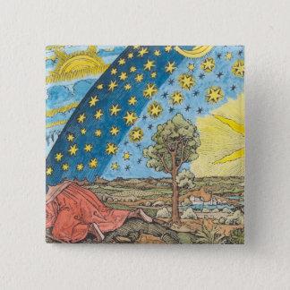 Fantastic Depiction of the Solar System Pinback Button
