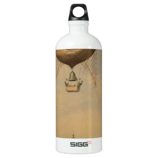 Fantastic draw of tour eiffel in construction,1887 SIGG traveler 1.0L water bottle