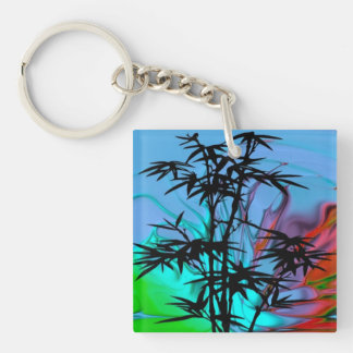 fantastic dream Double-Sided square acrylic keychain