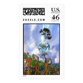 Fantastic Easter Egg Stamp stamp