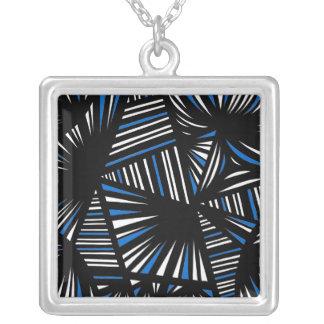 Fantastic Exuberant Calm Fantastic Square Pendant Necklace