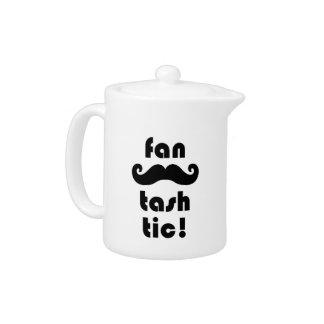 Fantastic 'Fan-Tash-Tic' Moustache Mug Teapot