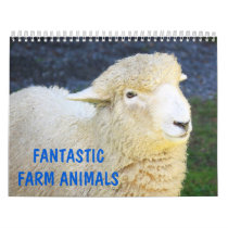 Fantastic Farm Animals Calendar