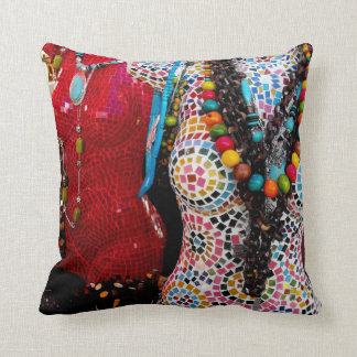 Fantastic Female Forms Throw Pillow