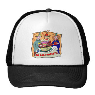 Fantastic Fifty 50th Birthday Gifts Hats
