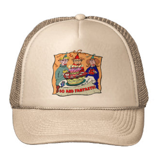 Fantastic Fifty 50th Birthday Gifts Trucker Hat