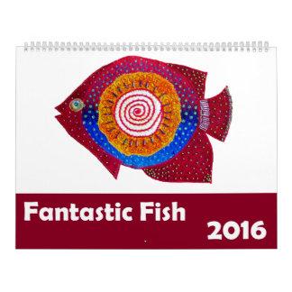 Fantastic Fish Calendar