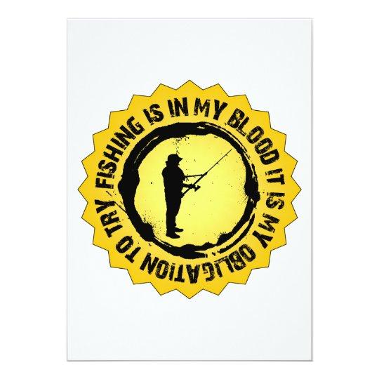 Fantastic Fishing Seal Card