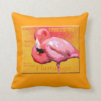 Fantastic Flamingo pillow