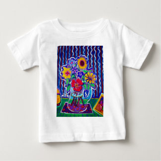 Fantastic Flowers by Piliero Baby T-Shirt