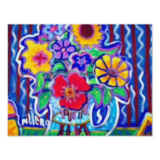 Fantastic Flowers by Piliero Card