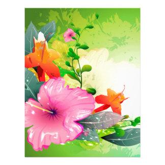 Fantastic flowers letterhead
