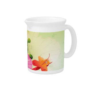 Fantastic flowers pitcher