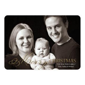 Fantastic Font Photo Holiday Card