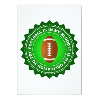 Fantastic Football Shield Card