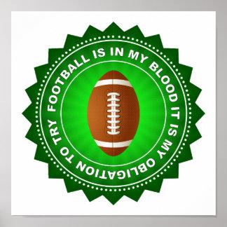 Fantastic Football Shield Poster
