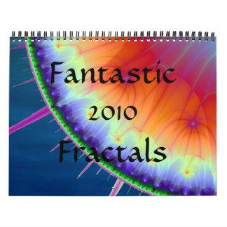 Fantastic Fractals 2010 calendar
