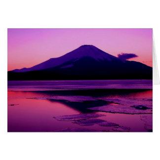 Fantastic Fuji Greeting Card