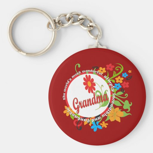 Fantastic Grandma Keychains