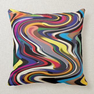 Fantastic Handcrafted Artistic Pattens Throw Pillow