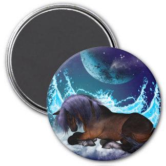 Fantastic horse refrigerator magnet