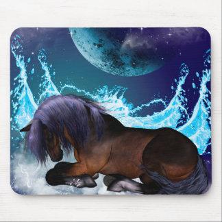 Fantastic horse mouse pad