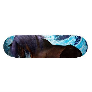 Fantastic horse skateboard deck