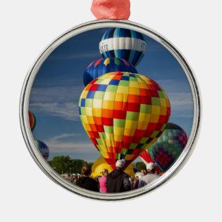 Fantastic Hot Air Balloon Race Decatur Alabama Metal Ornament
