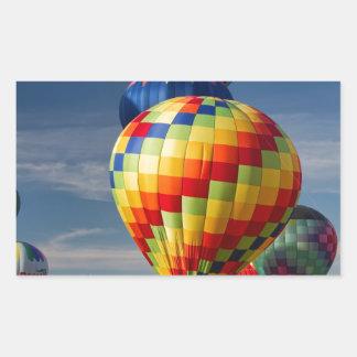 Fantastic Hot Air Balloon Race Decatur Alabama Rectangular Sticker