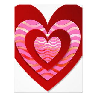 Fantastic image for love letterhead