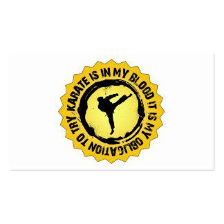 Fantastic Karate Seal Business Card