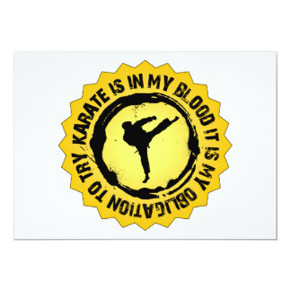 Fantastic Karate Seal Card