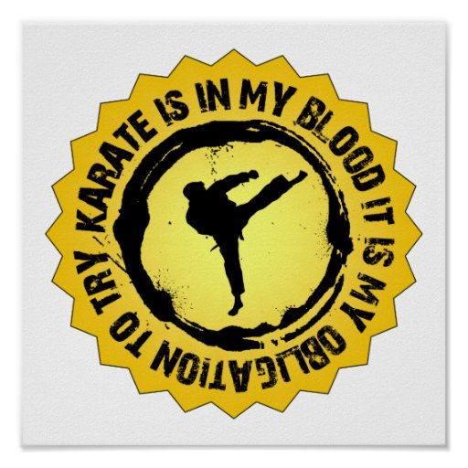 Fantastic Karate Seal Poster