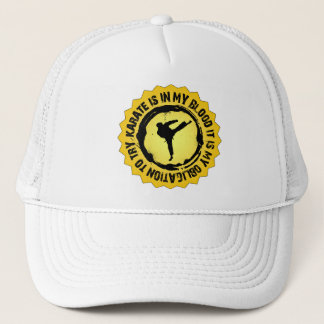 Fantastic Karate Seal Trucker Hat