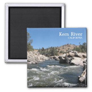 Fantastic Kern River Magnet! 2 Inch Square Magnet