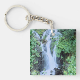 Fantastic Landscape Austria 21 Double-Sided Square Acrylic Keychain