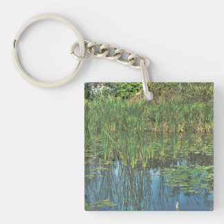 fantastic landscape Austria 22 Double-Sided Square Acrylic Keychain