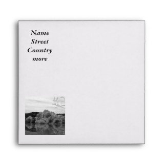 fantastic landscape Austria 23 BW Envelopes