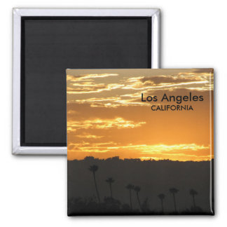 Fantastic Los Angeles Magnet! 2 Inch Square Magnet