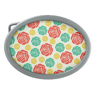 Fantastic Lovely Gorgeous Colorful Belt Buckle