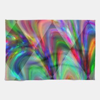 Fantastic Modern Design Colorful Diamonds Gifts Kitchen Towel