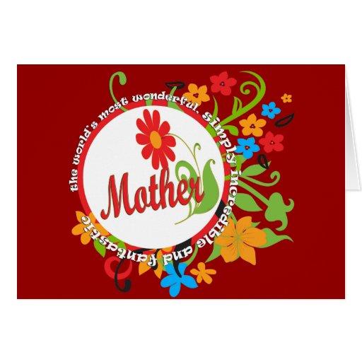 Fantastic Mother Greeting Card