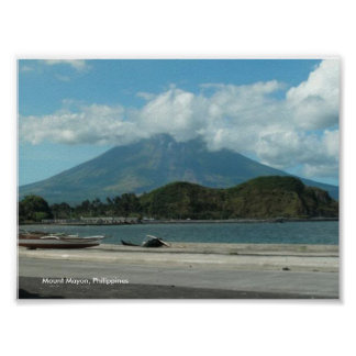 Fantastic Mount Mayon, Phl., Value Poster Paper