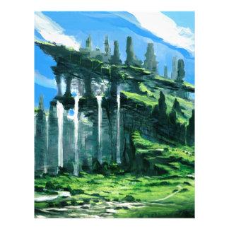 Fantastic Mountain Letterhead