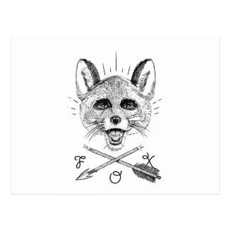 Fantastic Mr. Fox Postcard